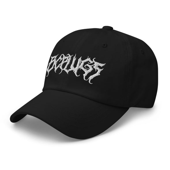 Death Metal logo Dad hat - Black