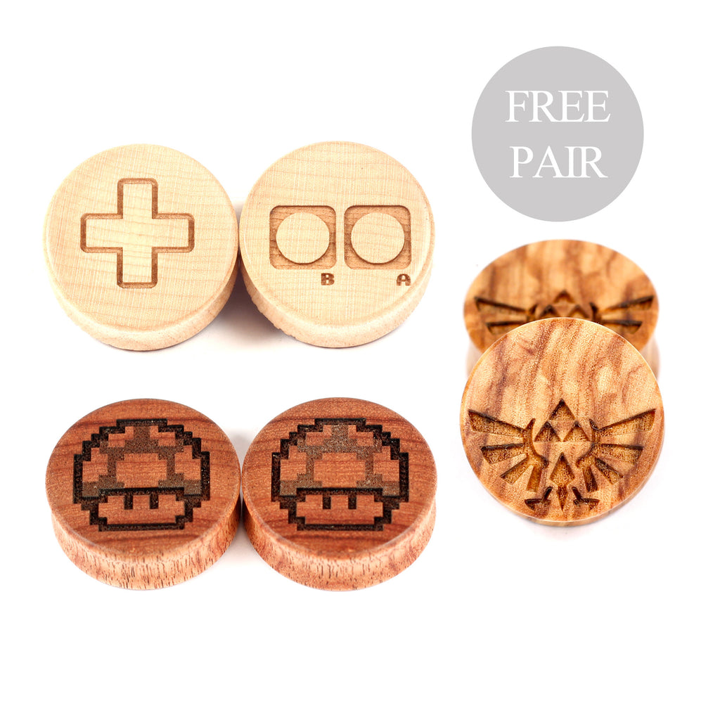 Threefer - Gamer - BC Plugs