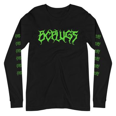 Death Metal logo Long Sleeve Tee
