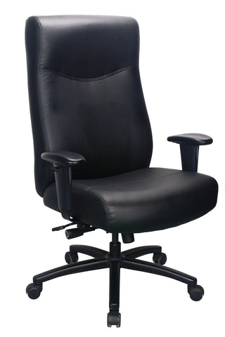 High Back Heavy Duty Leather Chair for Big and Tall People