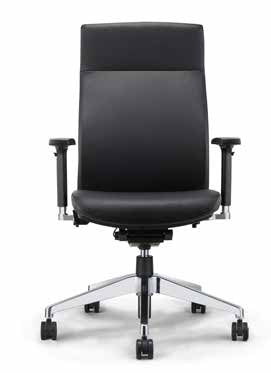 High Back Executive Leather Desk Chair