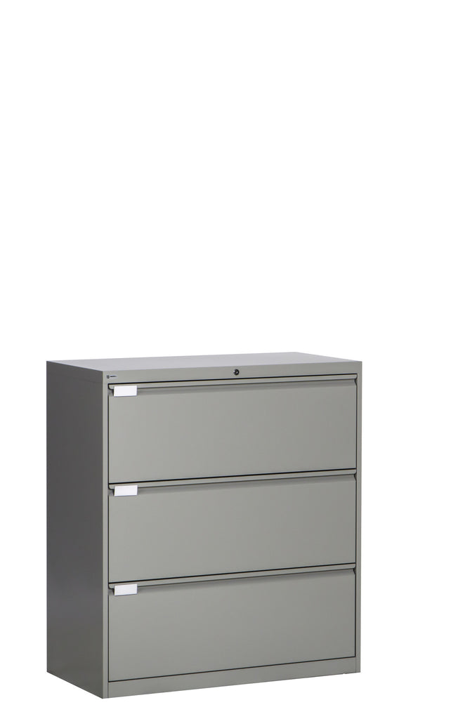 Lateral File Three (3) Fixed Front Drawers
