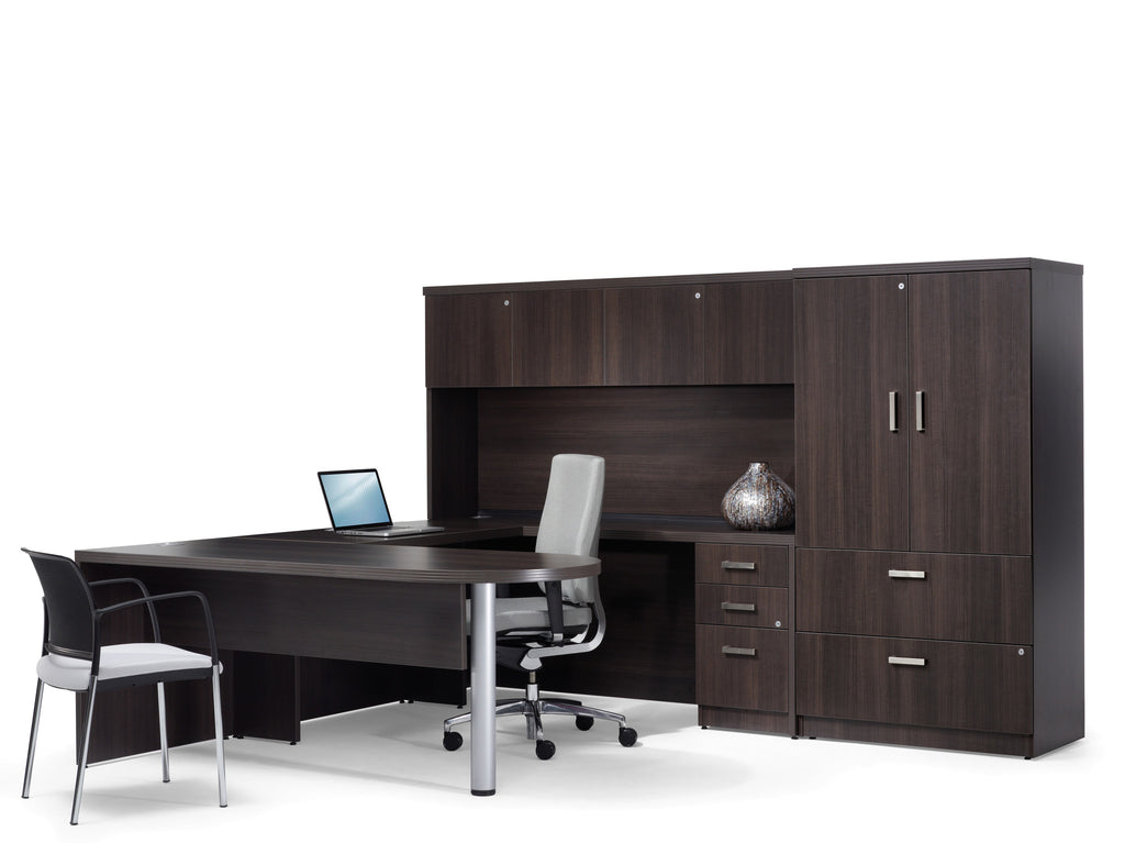 Metropolis Executive U-Shape Conference Desk Set
