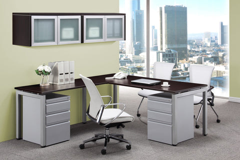 "Designer Office Desk, 72"" x 78"""
