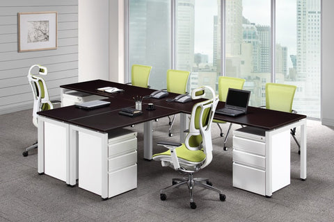 "Bridge Collection - Dual Workstation 144"" x 78"""