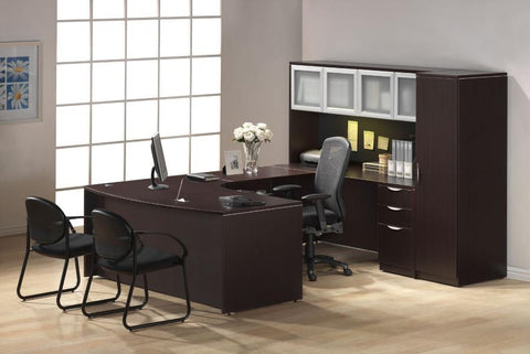 Executive Bowfront Workstations
