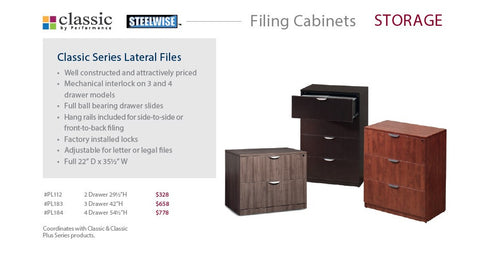 Filing Cablinets Wood Laminate