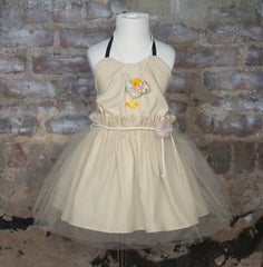 Dreamer's Tutu Dress (Cream)