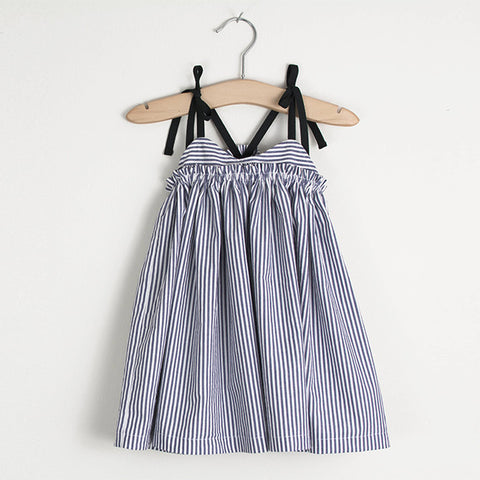 Sand Castle Dress (Indigo)