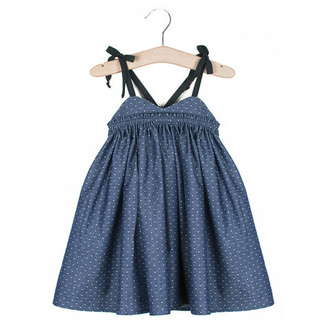Sandcastle Dress (Blue Berry)