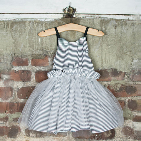 Dreamer's Tutu Dress (Pewter)