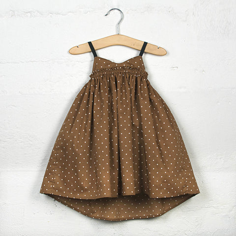 Sand Castle Dress (Chocolate)