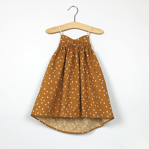 Sand Castle Dress (Caramel)