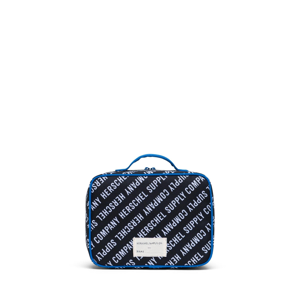 Pop Quiz Lunch Box - Roll Call Black, White & Lapis Blue