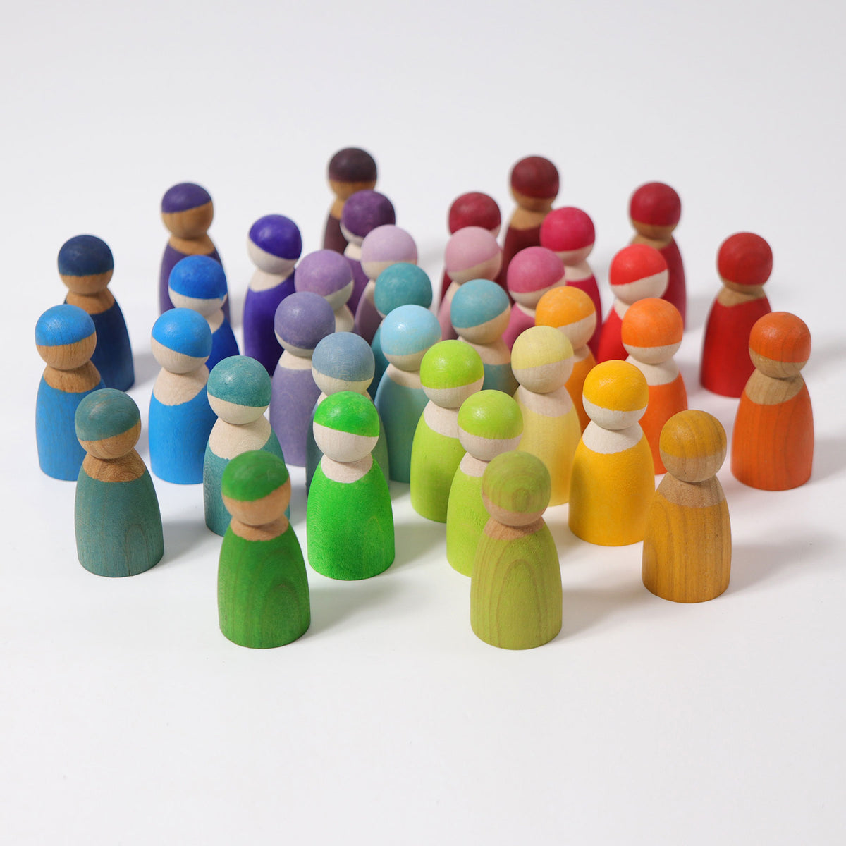 Wooden Friends | Rainbow - 12 piece *PRE-ORDER - JAN DELIVERY*