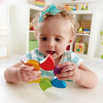 Wooden Rainbow Rattle