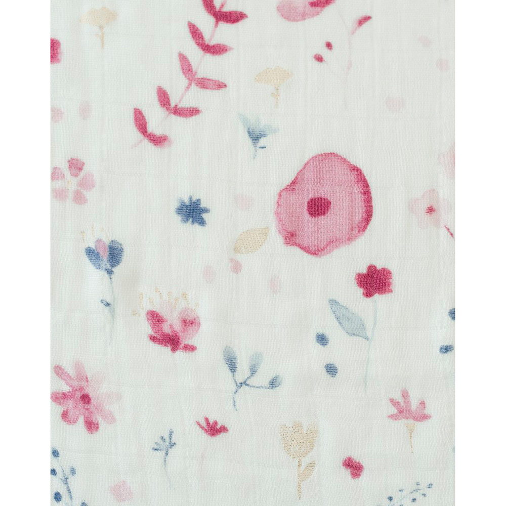 Cot Sheet | Cotton Muslin - Fairy Garden