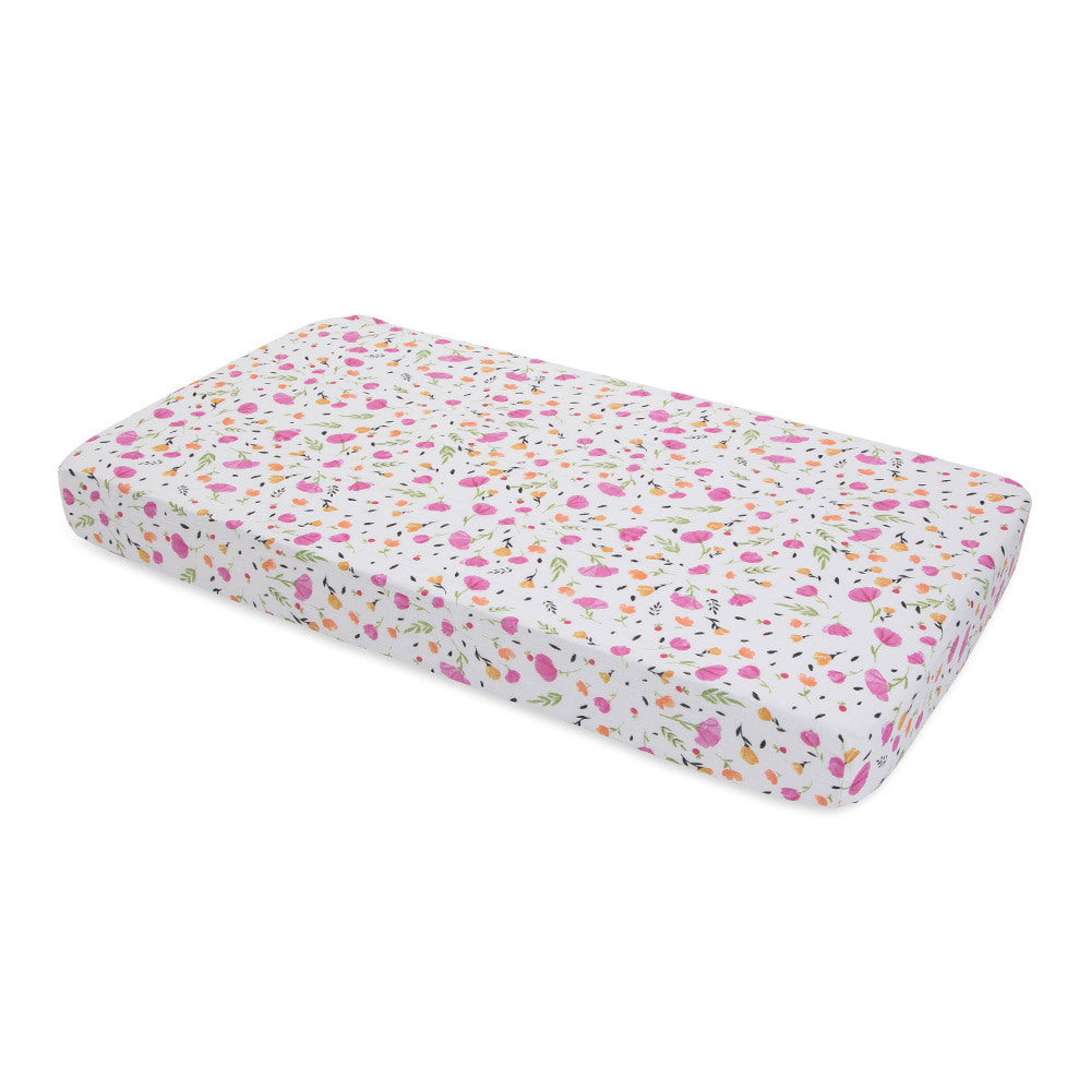Cot Sheet | Cotton Muslin - Berry & Bloom