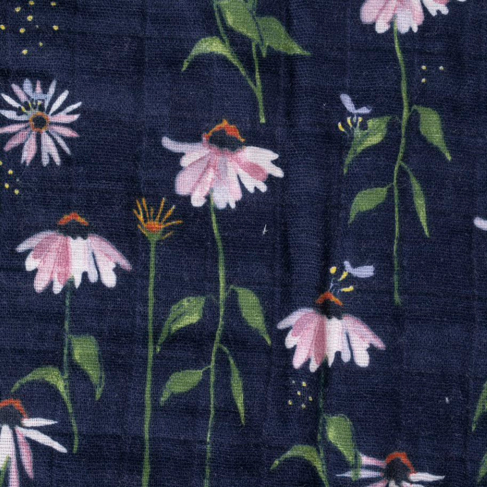 Quilt | Cotton Muslin - Dark Coneflower