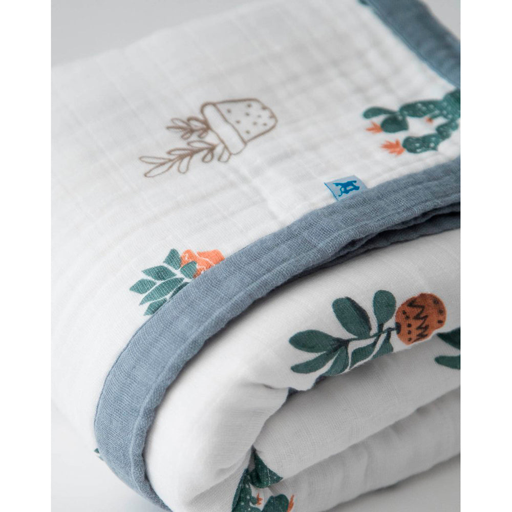 Big Kids Quilt | Cotton Muslin - Prickle Pots