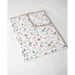Big Kids Quilt | Cotton Muslin - Forest Friends