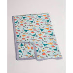 Big Kids Quilt | Cotton Muslin - Embroidosaurus