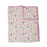 Big Kids Quilt | Cotton Muslin - Brain Freeze