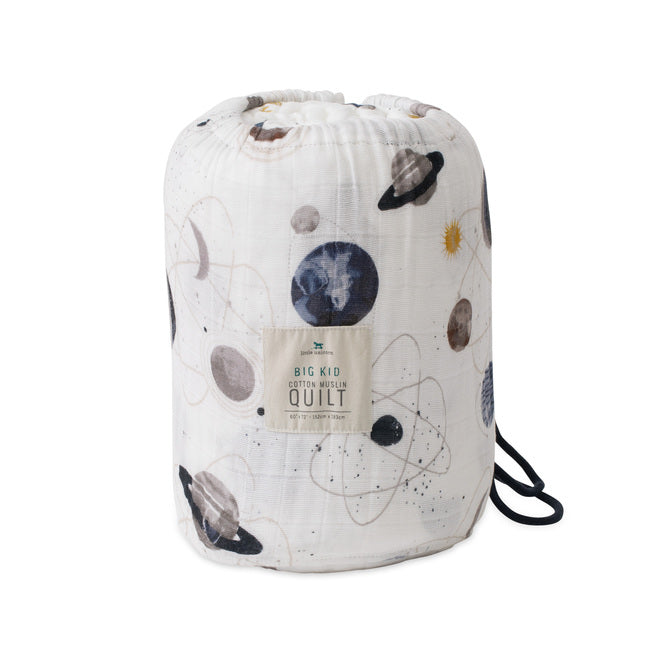 Big Kids Quilt | Cotton Muslin - Planetary