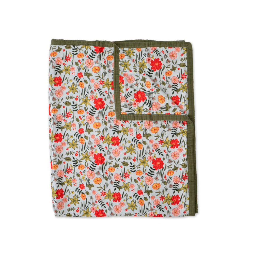 Big Kids Quilt | Cotton Muslin - Primrose Patch