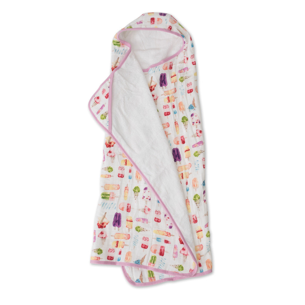 Big Kid Hooded Towel - Brain Freeze