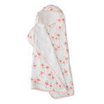 Big Kid Hooded Towel - Pink Ladies