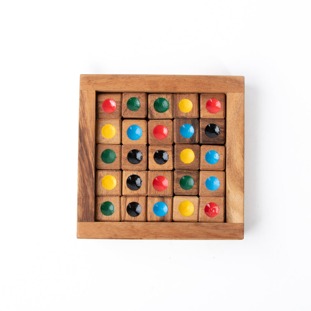 Wooden Colour Sodoku Game