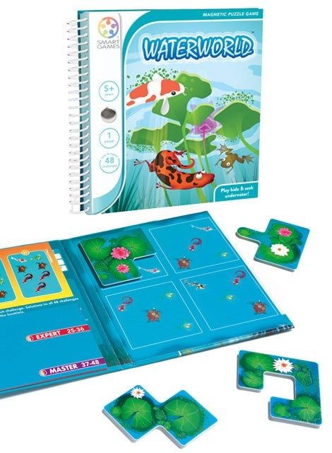 Magnetic Travel Game | Waterworld