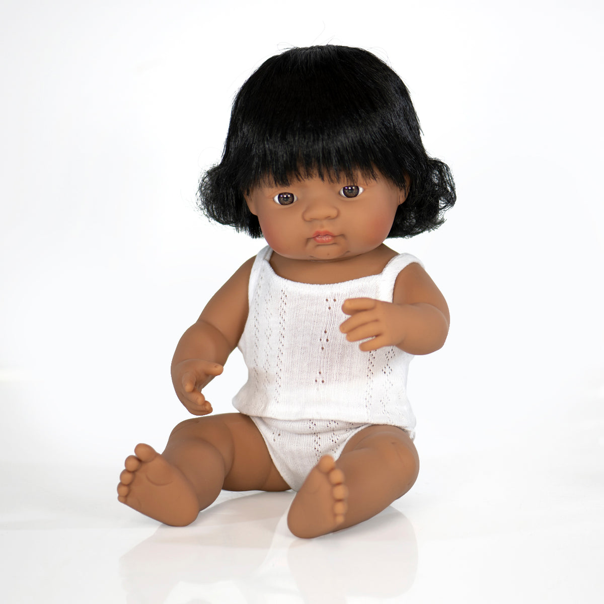 Anatomically Correct Doll | 38cm - Hispanic Girl
