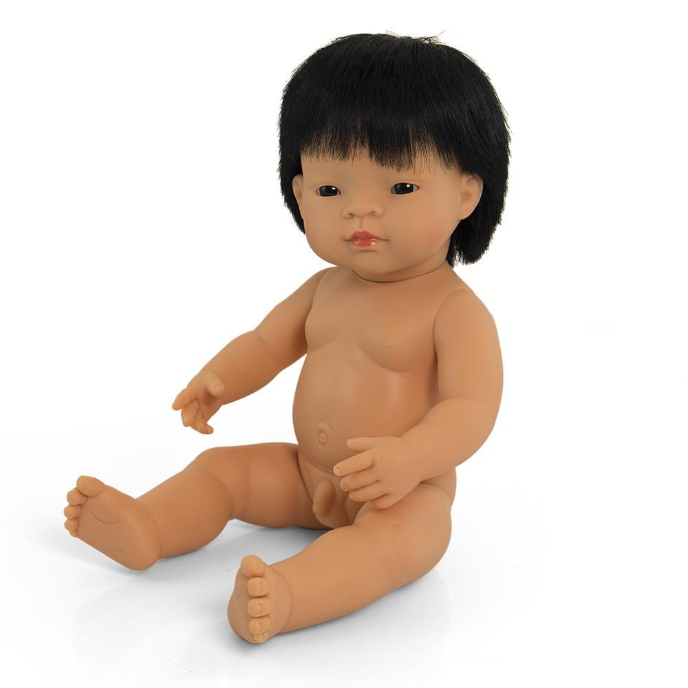 Anatomically Correct Doll | 38cm - Asian Boy