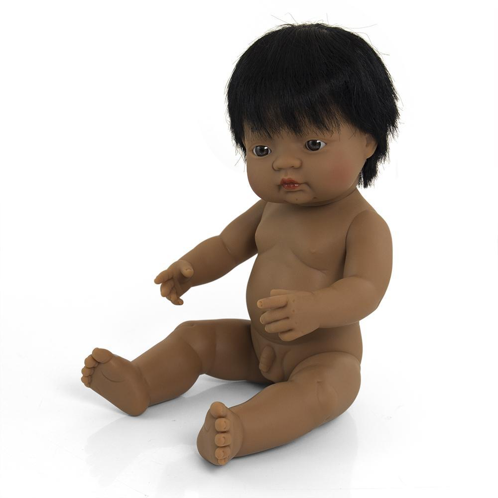 Anatomically Correct Baby Doll | 38cm - Hispanic Boy