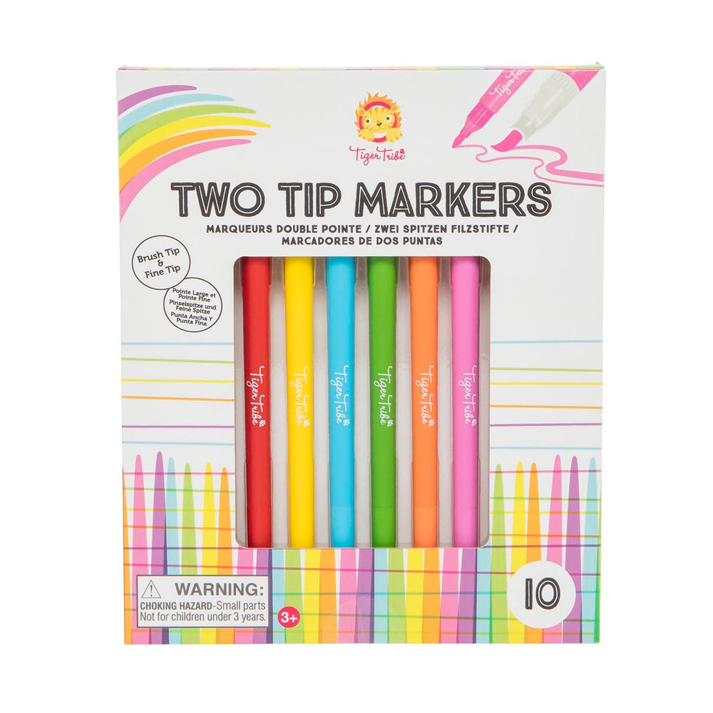 Two Tip Markers - 10pk