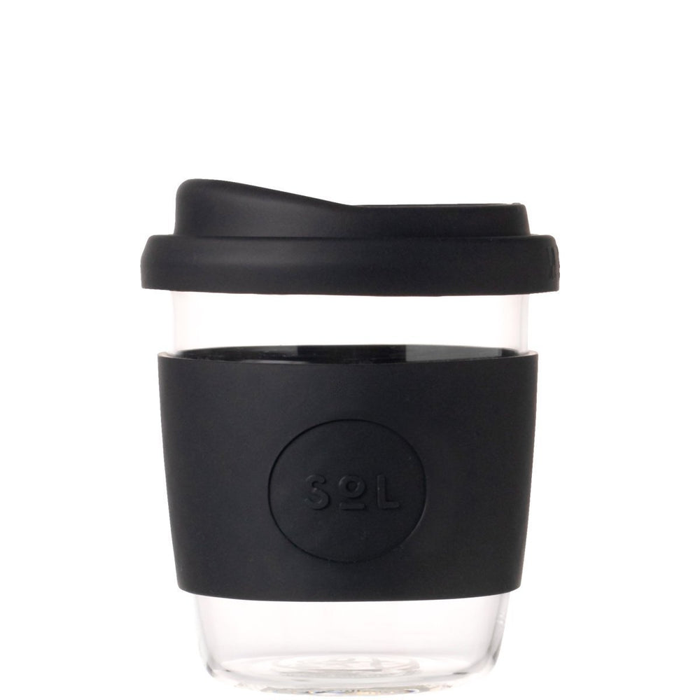 Glass Cup | 8oz - Basalt Black