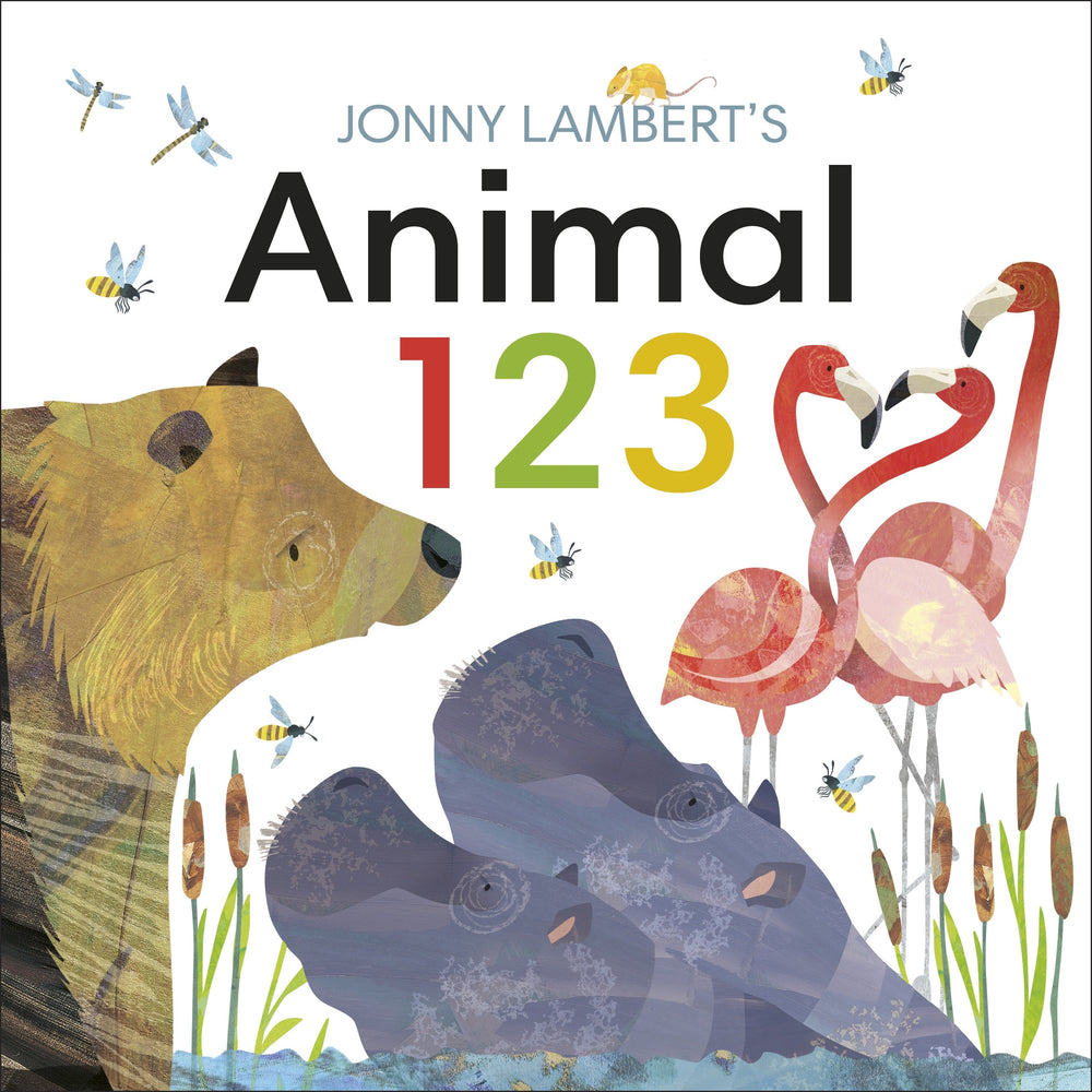 Jonny Lambert's Animal 123 | Lift the Flap Board Book