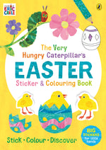 The Very Hungry Caterpillar's Easter Sticker and Colouring Book