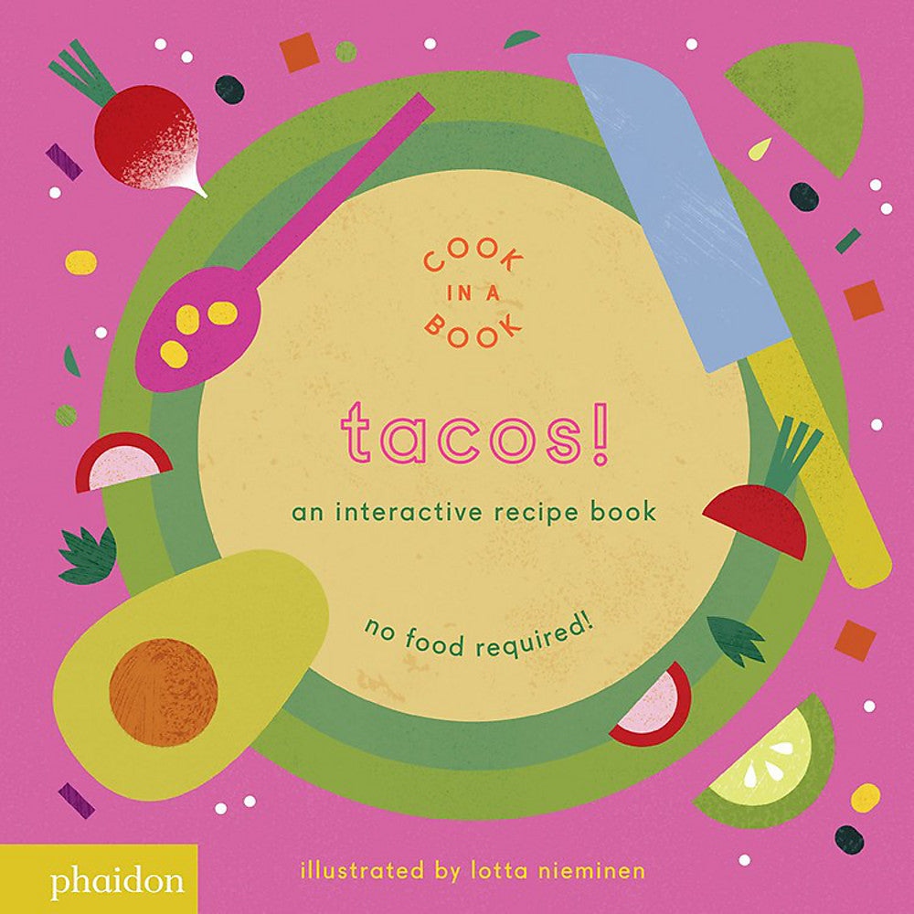 An Interactive Recipe Book | Tacos!