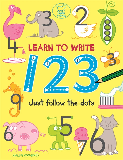 Learn to Write 123