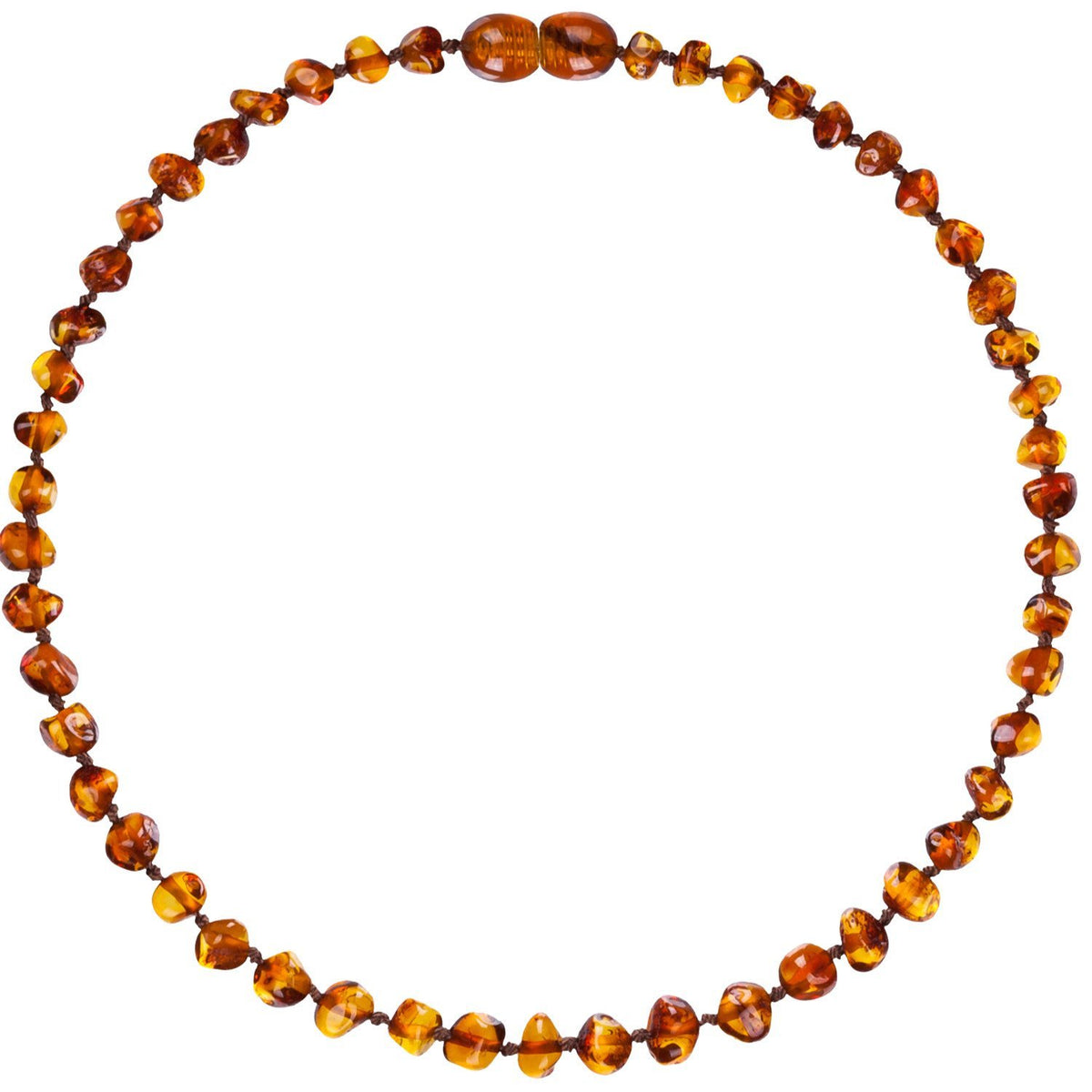 Bud Amber Necklace - Child