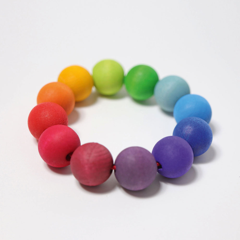 Bead Grasping Ring - Rainbow *PRE-ORDER EARLY JUNE DELIVERY*