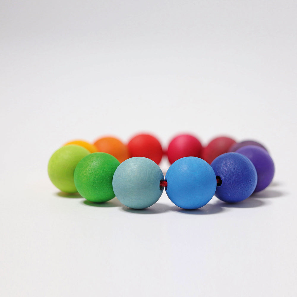 Bead Grasping Ring - Rainbow