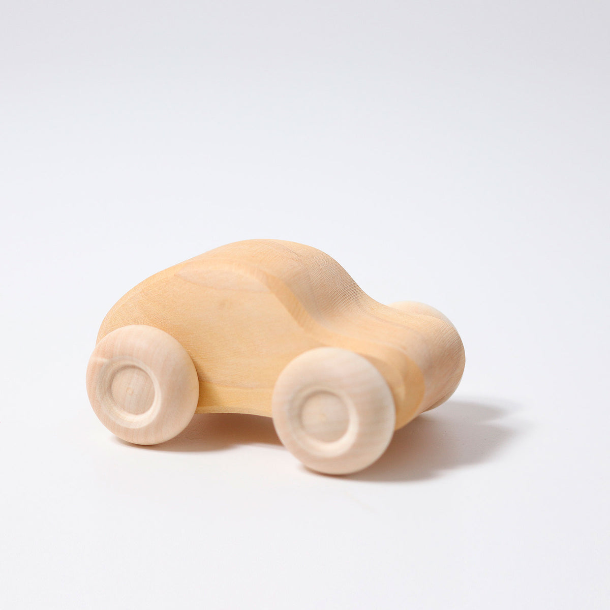 Wooden Cars - Natural 6 pack