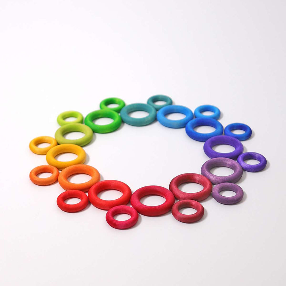 Building Rings - Rainbow