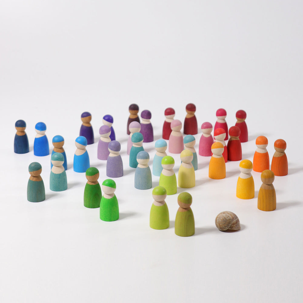 Cherrywood Friends | Rainbow - 12 piece