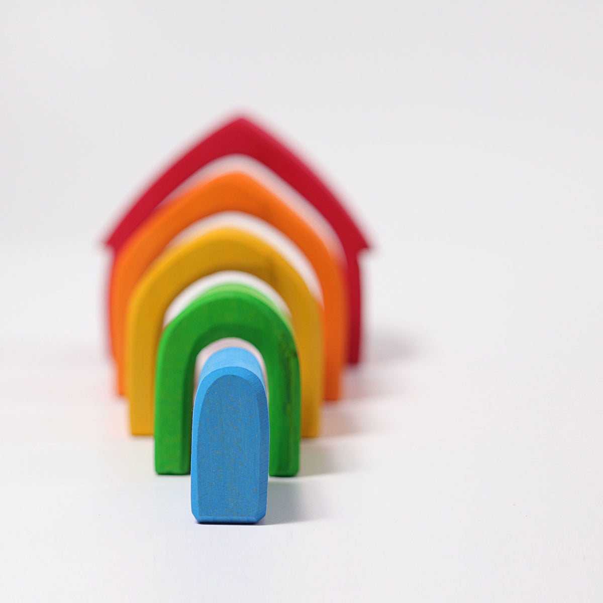 Stacking House - Rainbow