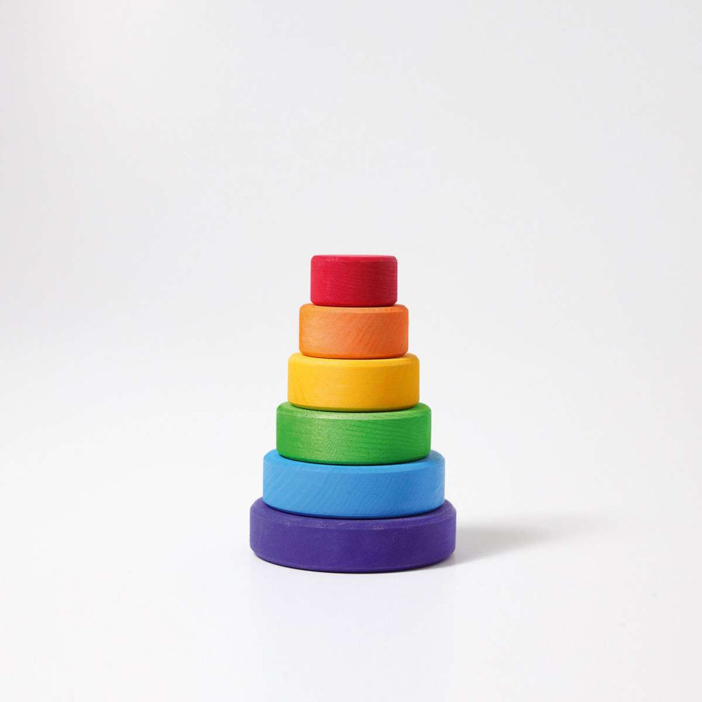 Conical Tower | Small - Rainbow